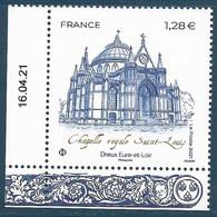 Chapelle Royale Saint-Louis - Dreux Coin Daté (2021) Neuf** - Neufs