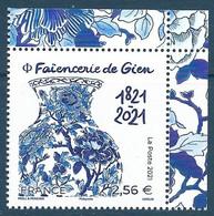 Faïencerie De Gien 1821-2021 BDF (2021) Neuf** - Ongebruikt