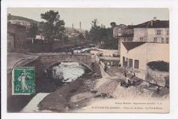 CP 42 ST JULIEN EN JARREZ Pont Sur Le Giers La Fond Rozet - Otros Municipios