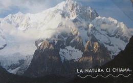 NUOVA- 1915-TELECOM ITALIA- LA NATURA CI CHIAMA-IL MONTE BIANCO 2 - Montagne