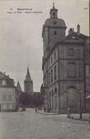 67 - Wissembourg (Bas-Rhin) - Hôtel De Ville - Eglise Collégiale - Wissembourg
