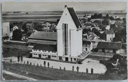 Carte Postale : 28 En Avion Au Dessus De SAINVILLE, Les Silos, Timbre En 1961 - Other Municipalities