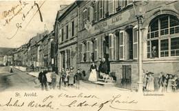Aint-Avold  Lubelerstrasse   (editeur Nels Metz ) - Saint-Avold