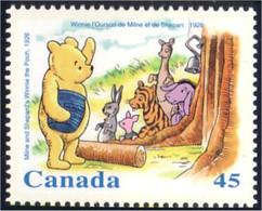 Canada Miel Honey Abeille Bee Winnie Lapin Rabbit Hare Hase Feuillet S/S MNH ** Neuf SC (C16-20ie) - Konijnen