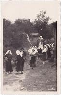 Haute Vienne : SAUVAGNAC : La Vierge Au Barbichet : Procession Folklorique Avec Instrument Vielle Et Statue : Costume - Andere Gemeenten