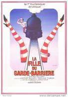Carte Postale : La Fille Du Garde-Barrière (affiche Film Cinéma) Jérome Savary, Ill. Léo Kouper (train - Chemin De Fer) - Kouper
