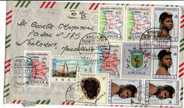 Luanda Angola 1973 - Lettre Cover Brief - Angola