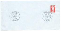 ENVELOPPE / MARIANNE 2.3 RODEZ AVEYRON 1989 - Cachets Commémoratifs