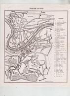 Plan De Ville Huy Sur Meuse - Unclassified