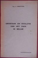 ONTSTAAN EN EVOLUTIE VAN HET ZWIN IN BELGIË Door Ir. J. Ameryckx Knokke Heist Damme Brugge - History