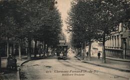 63 CLERMONT FERRAND  CPA   Boulevard Trudaine - Clermont Ferrand