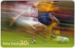 SWEDEN B-015 Chip Telia - Sport, Soccer - Used - Sweden