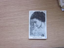 Rochele Hudson Mirim Kraljica Cokolade 1930's Yugoslavian Kingdom Original Vintage Mirim Chocolate Card 5x8 Cm - Actors