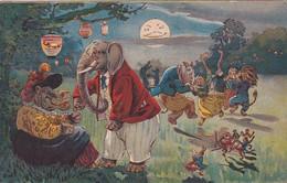 4839      54           Mevrouw Nijlpaard Mag Ik Deze Dans Van U. (leuke Kaart, Poststempel 1907)(minuscule - Autres
