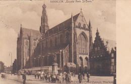 484087Haarlem, Groote Kerk St. Bavo. 1906. (zie Bovenrand) - Haarlem