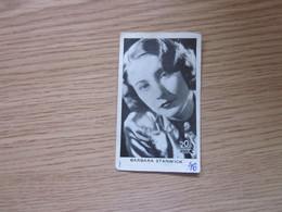 Barbara Staniwick Mirim Kraljica Cokolade 1930's Yugoslavian Kingdom Original Vintage Mirim Chocolate Card 5x8 Cm - Actors