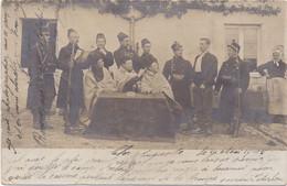 Carte Photo Foto - ARLON - AARLEN - 1905 - Militair Militairen1e Wereldoorlog 1914-1918 - Arlon