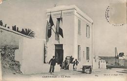 TUNISIE #28060 CARTHAGE LA POSTE - Tunisia