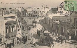 TUNISIE #28061 TUNIS BAB SOUIKA TRAMWAY - Tunisia