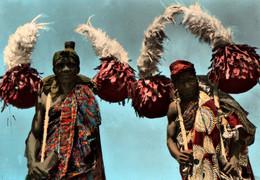 CPSM - DAHOMEY - DANSE FETICHISTE ACTCHINA - Edition Photo-Véritable - Dahomey