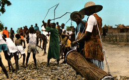 CPSM - DAHOMEY - Récolte Du Mil ... - Edition Photo-Véritable - Dahomey