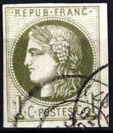 FRANCE                        N° 39 A                    OBLITERE - 1870 Uitgave Van Bordeaux