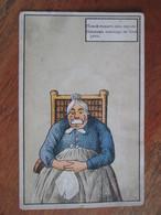 Russie , Illustrateur . Femme Baillonnee - Russie