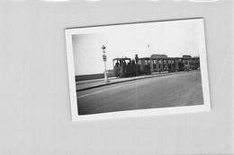 PHOTO ANCIENNE TRAIN TOURISTIQUE SUD OUEST PUBLICITE MEUBLES BAYLE 9 X 6 CM - Trenes