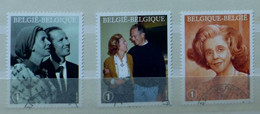 België - Belgique - Belgien - Belgium Nr 3787 - 3789 Gestempeld, Oblitéré, Gestempelt, Used (VA) - Gebraucht