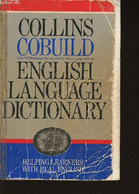 Collins Cobuild English Language Dictionary - Collectif - 1988 - Dictionaries, Thesauri