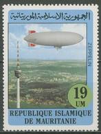 Mauretanien 1982 Zeppelin Luftschiff Fernsehturm 779 Postfrisch - Mauritania (1960-...)