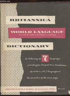 Standard Dictionary Of The English Language (International Edition)combined With Britannica World Language Dictionary Vo - Dictionaries, Thesauri