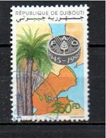 Timbre Oblitére De Djibouti 1995 - Djibouti (1977-...)