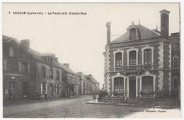 44 - SOUDAN +++  La Poste Et La Grande Rue +++ - Other Municipalities