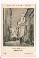 Carte De Tableau VILLON Eugène AJACCIO Corse Société Lyonnaise Des Beaux Arts Salon 1934 Photo Sylvestre LYON - Ajaccio