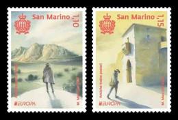 San Marino 2020 Mih. 2810/11 Europa. Ancient Postal Routes MNH ** - Nuevos