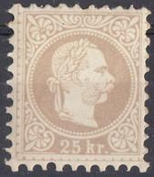 AUSTRIA - 1878 - Yvert 37A Nuovo MH, Come Da Immagine. - Neufs