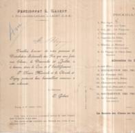Dépt 77 - LAGNY-SUR-MARNE - PENSIONNAT L. GABERT, 4 Rue Jacques-Lepaire - Distribution Des Prix Dimanche 20 Juillet 1890 - Lagny Sur Marne
