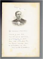 ANDRE ANTOINE 1858 LIMOGES 1943 LE POULIGUEN COMEDIEN THEATRE PORTRAIT AUTOGRAPHE BIOGRAPHIE ALBUM MARIANI - Historische Documenten
