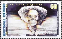 Marshall Islands 1998 MNH, Atomic Bomb, Skull, War & Peace Decade - Sonstige