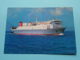 M.V. ATLAS IV Libra Maritime Piraeus () Anno 19?? ( Zie/voir Photo ) ! - Handel