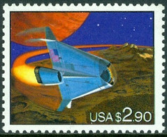 UNITED STATES OF AMERICA 1993 $2.90 SPACE SHUTTLE** (MNH) - Ungebraucht