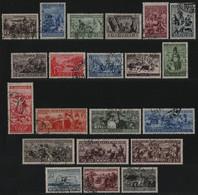 Russia / Sowjetunion 1933 - Mi-Nr. 429-449 Gest / Used - Völker Der UdSSR - Usati