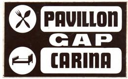 Autocollant  - Pavillon Gap Carina - Autocollants