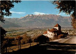 Schloss Vaduz - Fürstentum Liechtenstein - Rheintal (82) * 21. 9. 1978 - Liechtenstein