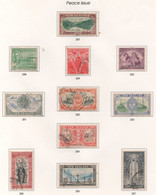 New Zealand - #247-57(11) - Used - Used Stamps