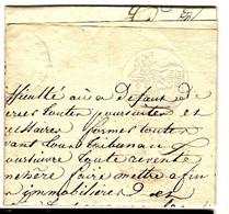 48992 - 4 Cachets  Fiscaux - 1801-1848: Precursors XIX