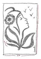 Représentation Du Timbre MARIANNE De LAMOUCHE - - Stamps (pictures)
