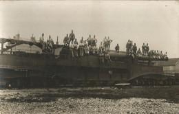 Carte-Photo - Canon Sur Rail - Modèle à Identifier - Regiments
