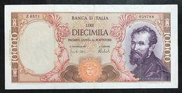 10000 Lire Michelanglo Buonarroti 27 11 1973 Taglietti Bb LOTTO 2280 - 10000 Lire
